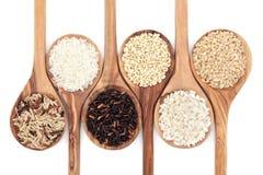 Variedad del grano del arroz Fotografía de archivo libre de regalías