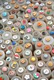 Variedade colorida dos botões Fotografia de Stock Royalty Free