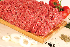 Variedade da carne crua Imagens de Stock