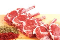 Variedade da carne crua Fotos de Stock