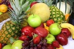 Variedade da fruta Imagem de Stock Royalty Free