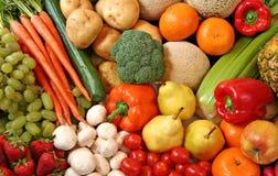 Variedade da fruta e verdura Fotos de Stock Royalty Free