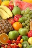 Variedade da fruta fresca Fotografia de Stock Royalty Free