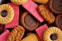 Variedade de biscoitos Imagem de Stock Royalty Free