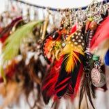 Variedade de brincos da mulher Fotos de Stock Royalty Free