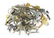 A variedade de chaves Fotografia de Stock Royalty Free