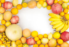 Variedade de citrinas frescas Foto de Stock
