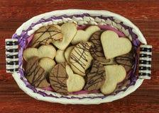 Variedade de cookies II imagens de stock royalty free