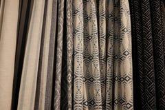 Variedade de cortinas Foto de Stock
