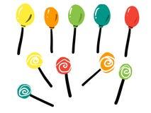 A variedade de doces Foto de Stock Royalty Free