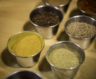 Variedade de especiarias Foto de Stock