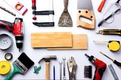 Variedade de ferramentas Imagens de Stock