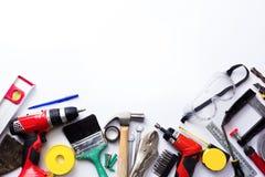 Variedade de ferramentas Fotografia de Stock Royalty Free