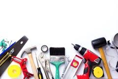 Variedade de ferramentas Foto de Stock