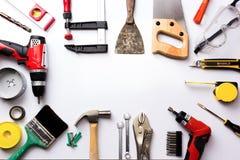 Variedade de ferramentas Imagem de Stock