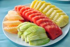 Variedade de fruta tropical Foto de Stock