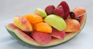 Variedade de fruto fresco que pronto para comer Foto de Stock