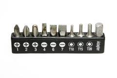 Variedade de lâminas de chave de fenda Imagem de Stock