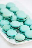 Variedade de Macarons Fotos de Stock
