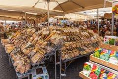 Variedade de massa italiana tradicional Imagem de Stock Royalty Free