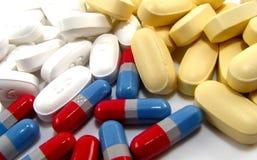Variedade de medicamentação Fotografia de Stock