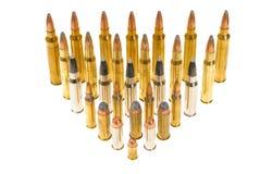 Variedade de munição Fotos de Stock Royalty Free