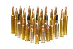 Variedade de munição Fotos de Stock
