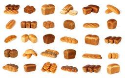 Variedade de pão Foto de Stock Royalty Free