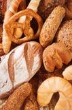 Variedade de pão fotos de stock royalty free