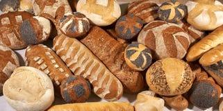 Variedade de pão Fotografia de Stock Royalty Free