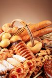 Variedade de pão Fotos de Stock