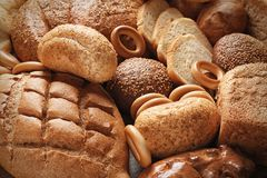 Variedade de pão fresco Foto de Stock