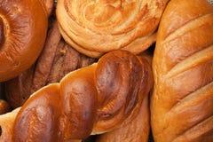 Variedade de pão fresco Fotos de Stock Royalty Free
