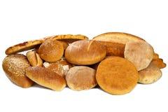 Variedade de pão fresco fotos de stock