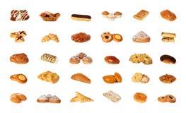Variedade de pastelaria Fotos de Stock Royalty Free