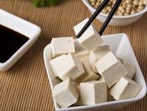 Variedade de produtos da soja Imagem de Stock