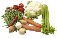 Variedade de vegetais diferentes Imagens de Stock Royalty Free