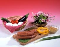 Variedade do alimento Fotos de Stock Royalty Free