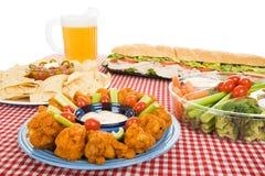Variedade do alimento do partido Fotos de Stock
