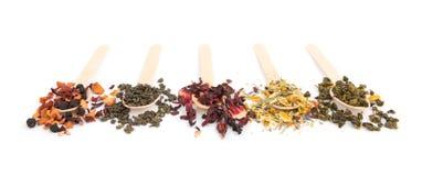 Variedade do chá imagem de stock