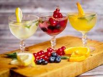 Variedade do cocktail fotos de stock