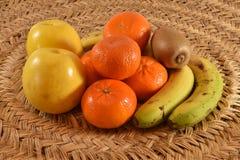 Variedade do fruto fotos de stock royalty free