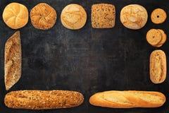 Variedade do pão cozido Foto de Stock Royalty Free