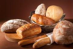 Variedade do pão cozido Imagens de Stock
