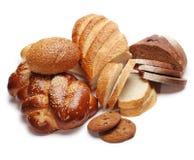 Variedade do pão cozido fotos de stock