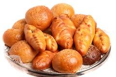 Variedade do pão cozido Foto de Stock