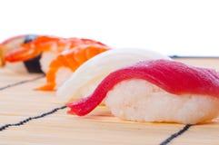 Variedade do sushi japonês fotografia de stock