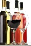 Variedade do vinho Imagens de Stock