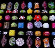Variedade dos anéis Fotos de Stock Royalty Free