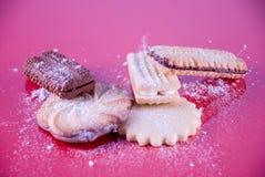 Variedade dos biscoitos Fotos de Stock Royalty Free
